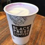 期間限定のウベ入り、パープルティーラテをBlack Press Coffeeで飲もう!(NYC)